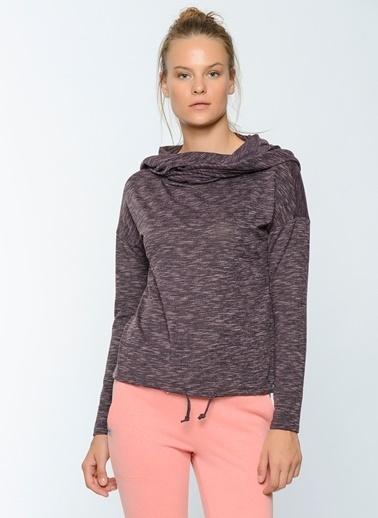 Boğazlı Kapüşonlu Sweatshirt-Only Play